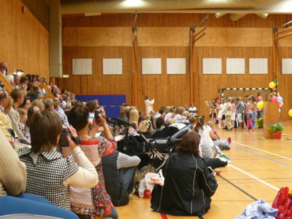 スウェーデンの小学校の終業式でぽかーんとしてしまったこと