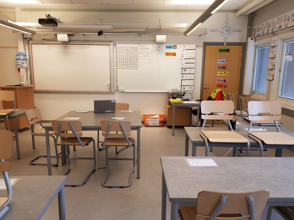 スウェーデンの小学校に行く準備とは