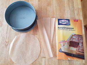 スウェーデンで21㎝の型でスポンジケーキ作り