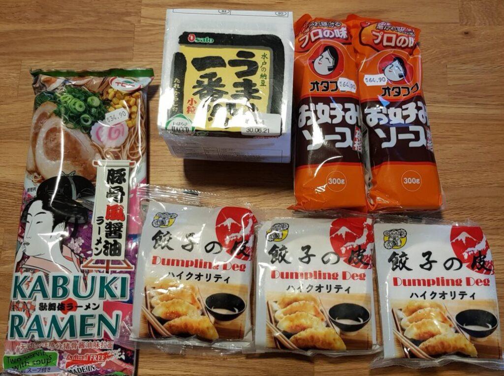 スウェーデンで買える日本の食べ物や雑貨のサイトをまとめてみました